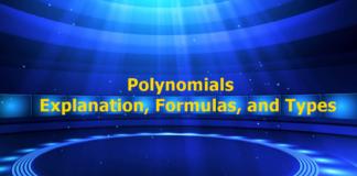 Polynomials – Explanation, Formulas, and Types